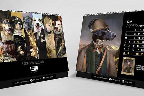 Calendari da tavolo cani