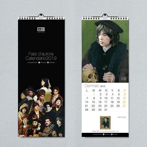Calendari cantanti da muro