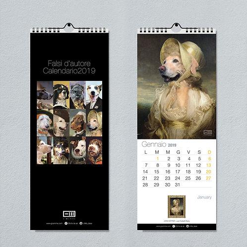 Calendario da muro cani