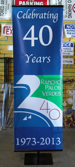 signs and banners store-rancho palos verdes-san pedro, indoor floor banner stand