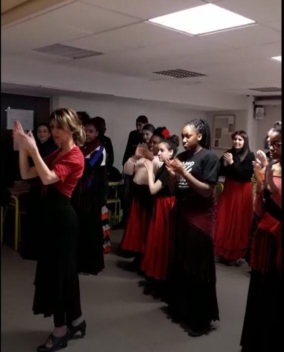 Cours flamenco Lycée René Cassin