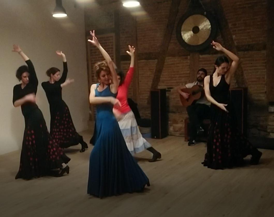 Cours flamenco Barr