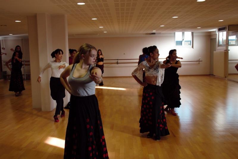 Cours flamenco débutant CSC Escale