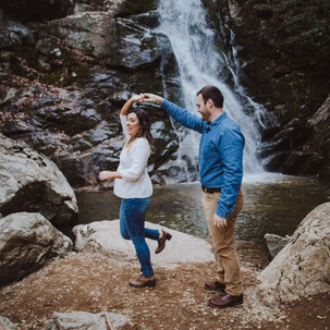 Engagement Session at Stiles Falls