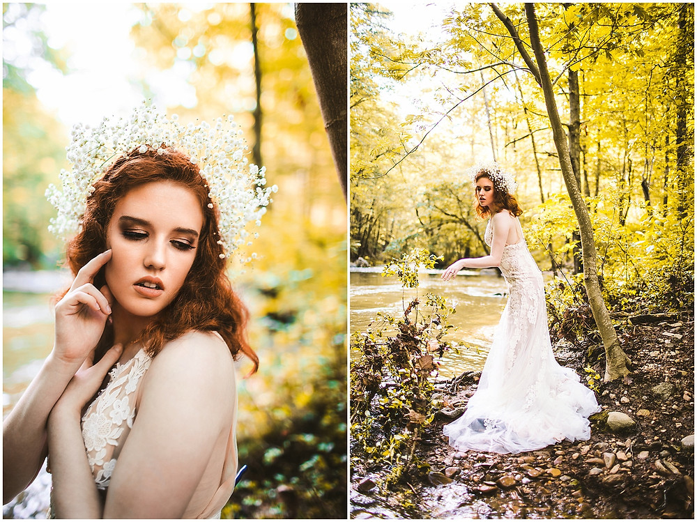Bridal Portraits on the Blue Ridge Parkway