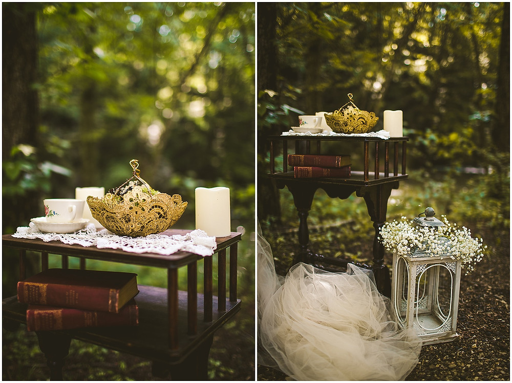 Styled Shoot details Lynchburg Wedding photography