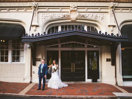 Virginian Spring Wedding