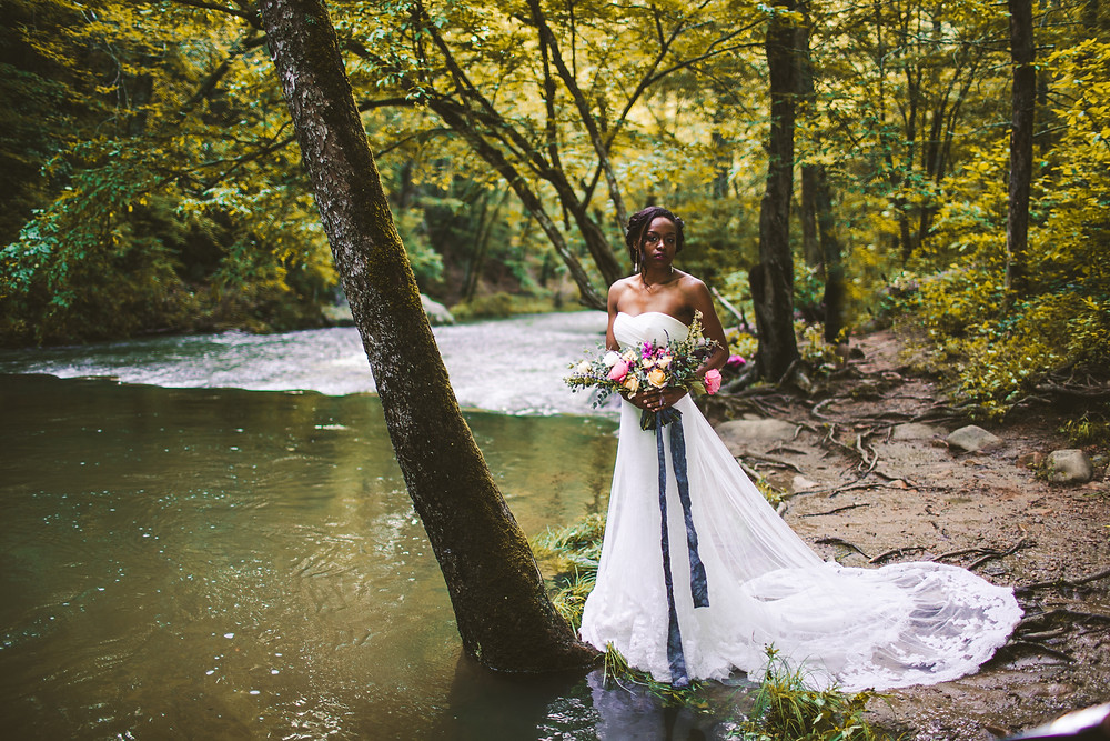 Lynchburg Virginia Bridal Portrait