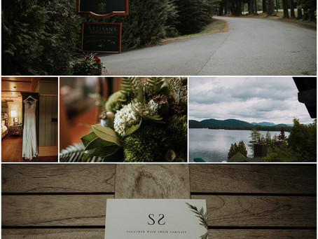 Summer Elopement at the Lake Placid Lodge