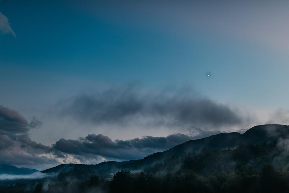 Sunrise in the Adirondack Mountains