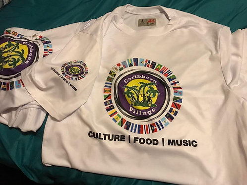 Caribbean Village Classic White T-shirt