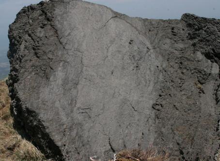 윗세오름 조면현무암