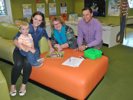 Free child health now available at Caboolture library