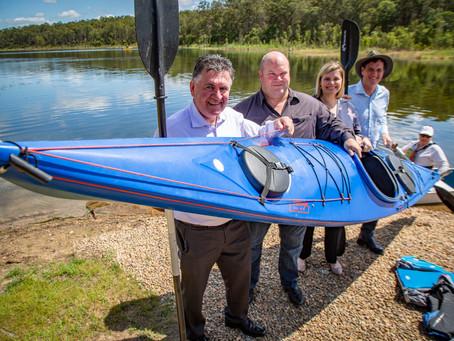 Public paddling now allowed at Lake Samsonvale