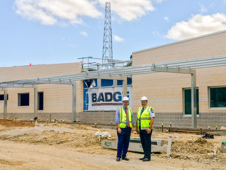 Progress on new Caboolture police station.
