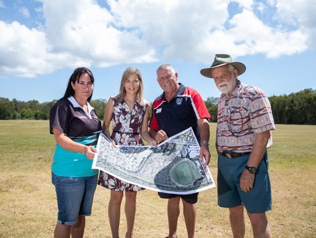 Have your say: Sandstone Point Community and Sports Complex.