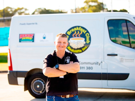 Unitywater Support Assists Redcliffe Charity to Feed Homeless