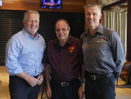 Cricket Legend Bowls Support to Blind Bats