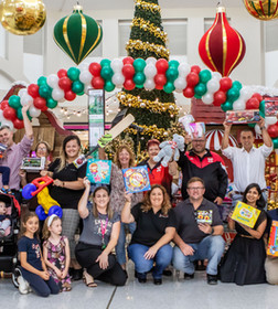 Shoppers Donate Trolleys Full Of Toys For Local Kids In Need