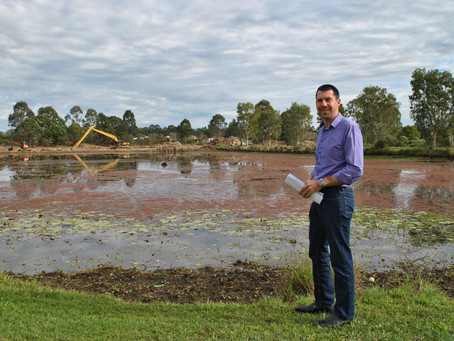 Norfolk Lakes Renewal and Spillway Upgrade gets underway