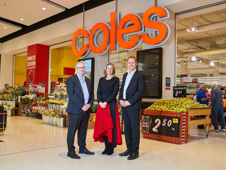 Coles Signs Strategic Partnership with Microsoft