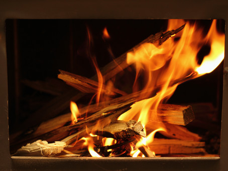 Dispose of hot ashes safely this winter