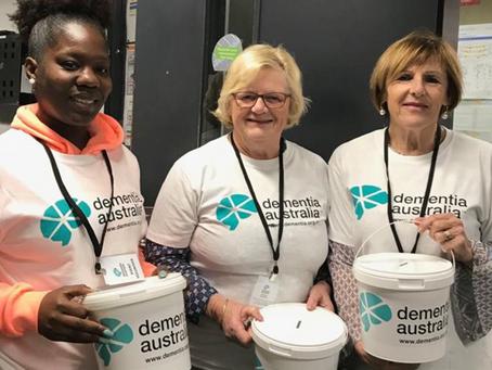 Recognising Dementia Australia volunteers