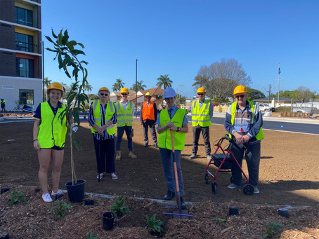 Aged Care Residents Join Students for Mango-nificent Planting