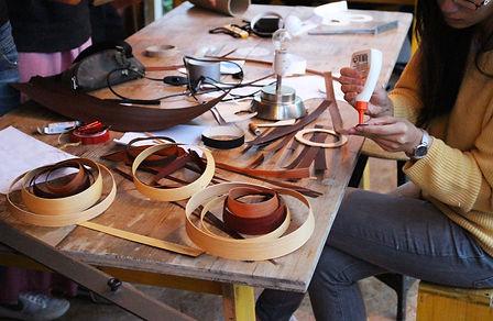 WERT DER DINGE workshop furnierlampen platzwerk