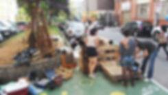 WERT DER DINGE  URB-I urbane intevention sao paulo sacaso straßenmöbel