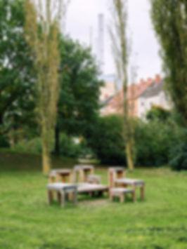 WERT DER DINGE urban design straßenmöbel faustwiese linden