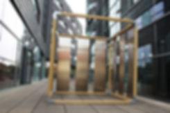 WERT DER DINGE cube temporäre architektur messestand