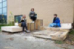 WERT DER DINGE Bluegreen Liverpool urbane intervention straßenmöbel