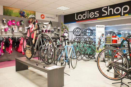 Fotografie fietsenwinkels Van Eyck sport