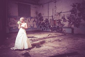 Momentje voor de bruid