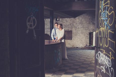 Trouwfoto oude brouwerij