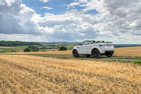 Locatiefotografie Land Rover
