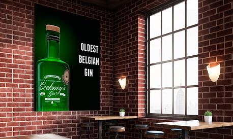 Banner Cockney's gin