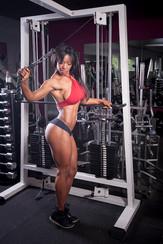 Fotoshoot fitnessmodel