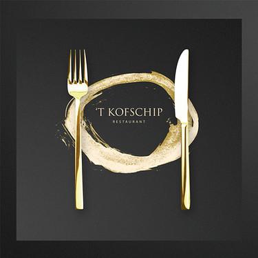 Logo ontwerp restaurant 't Kofschip