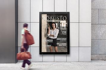 Ontwerp en opmaak magazine Robusto