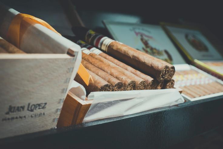Fotograaf sigarenwinkel