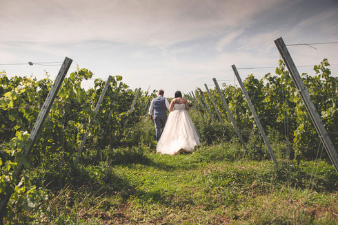 Druiven en huwelijksfotografie