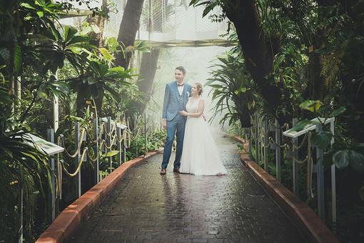 Huwelijksreportage regenwoud