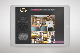 Website design restaurant 't Kofschip