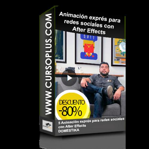 Animación exprés para redes sociales con After Effects