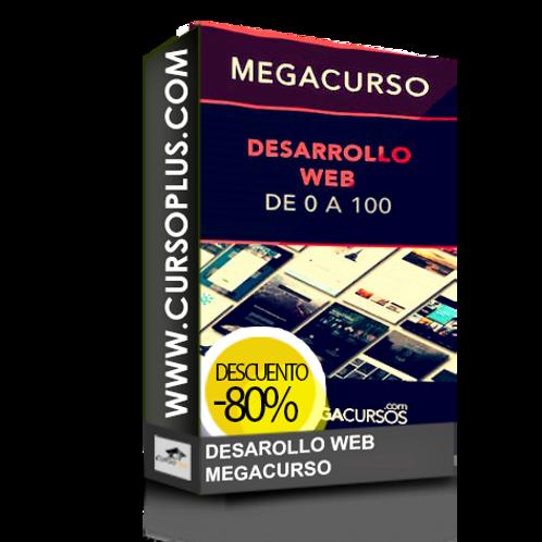 Megacurso Desarrollo Web Maestro en 50h