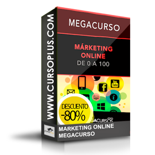Megacurso - Marketing online. Maestro en 35h