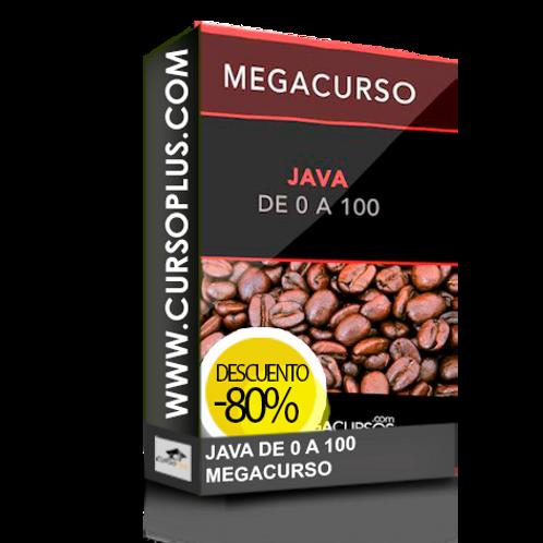 Megacurso Java Maestro en 70h de 0 a 100