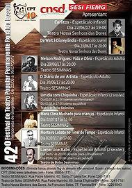 42º Festival de Teatro Popular Permanente Ronaldo Boschi